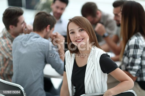 istock close up.young employee with business team discussing financial documents 1026515034