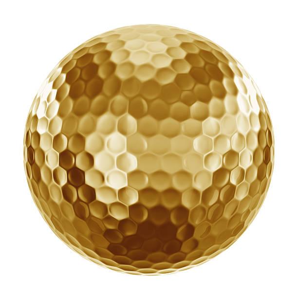 Golf Cart in gold – Foto