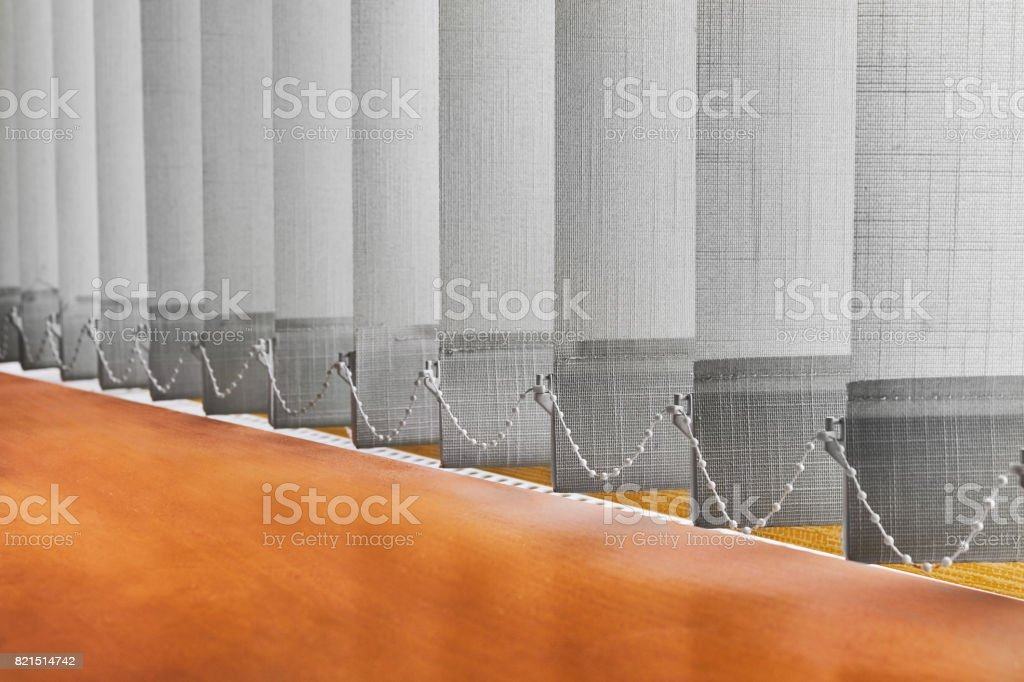 Closed blinds (curtains) – zdjęcie