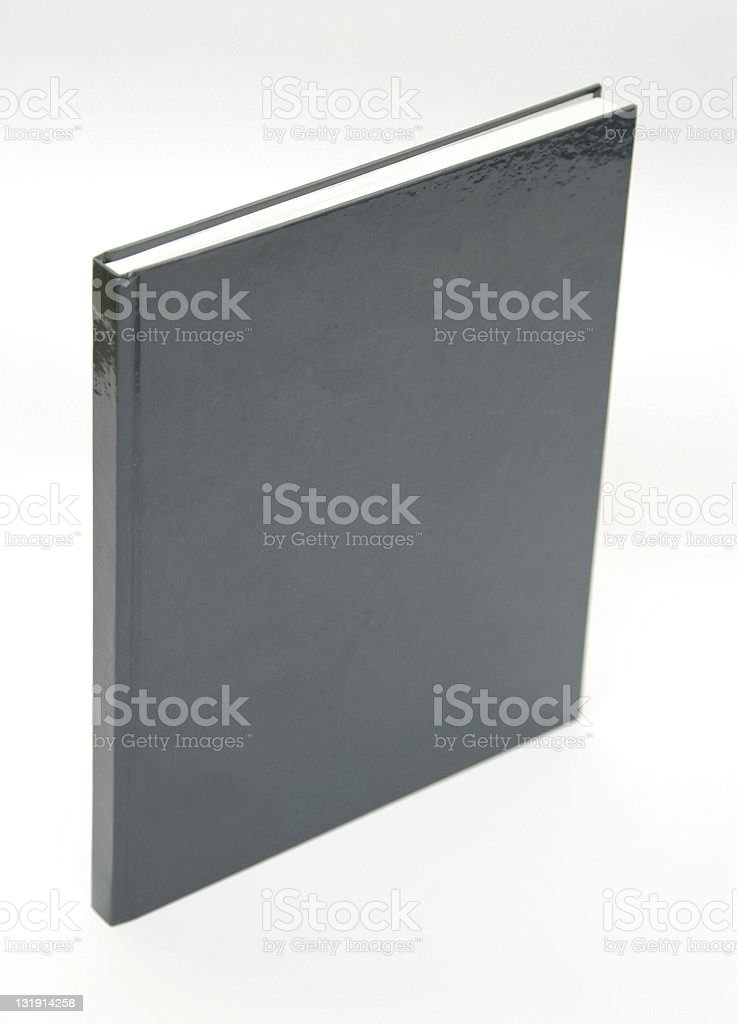Closed book royalty-free stock photo