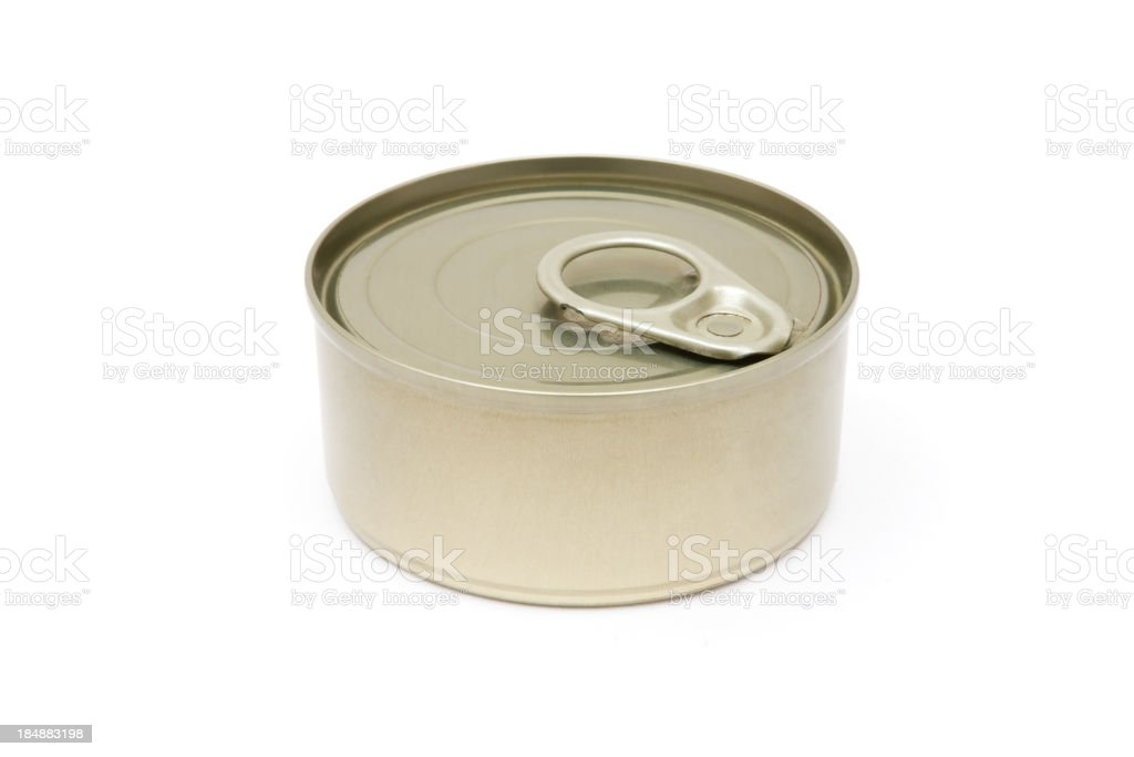 Closed Can royalty-free stock photo