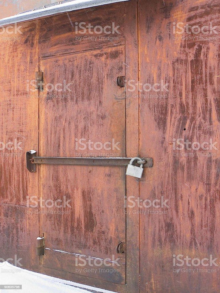 Закрытыми двери стоковое фото