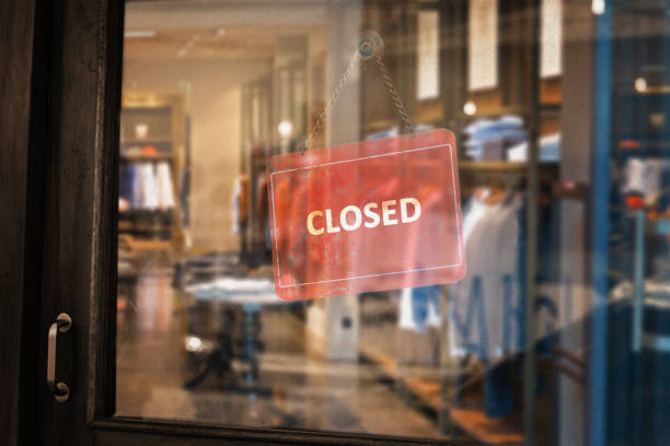 closed dress shop - closed stock photos and pictures