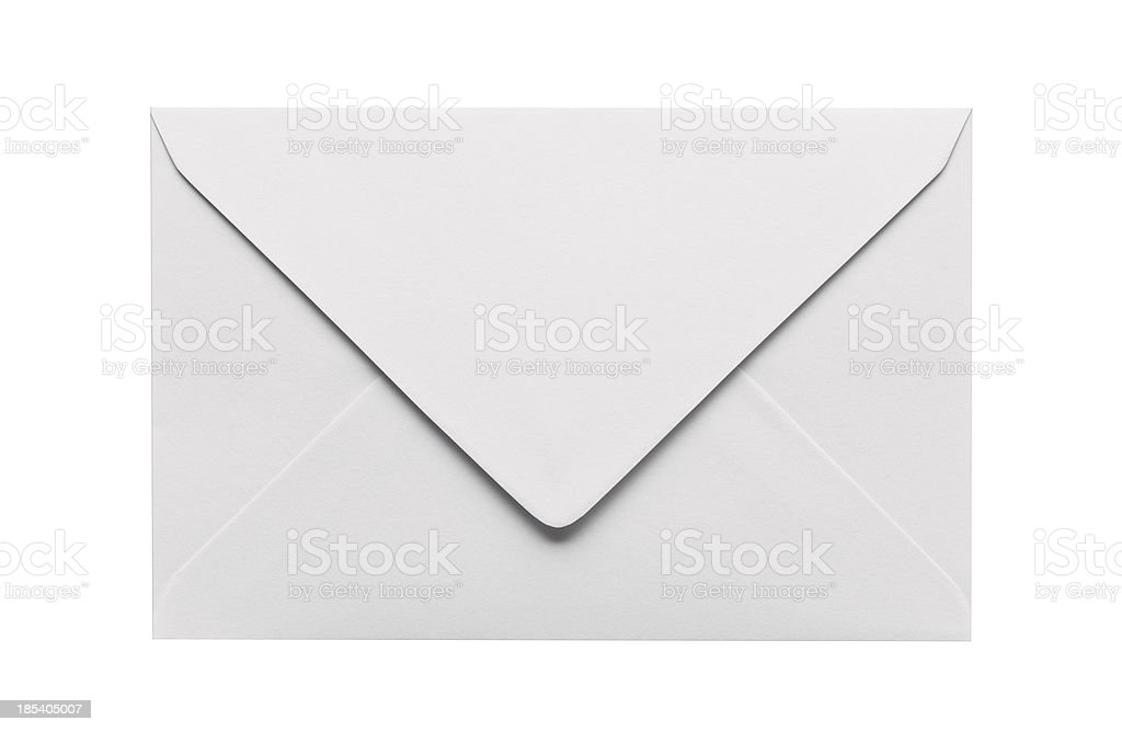 Closed Envelope stock photo