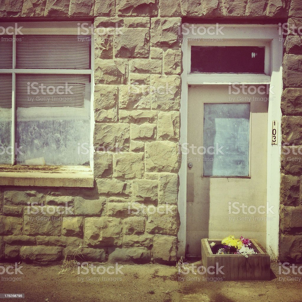 Closed house royalty-free stock photo