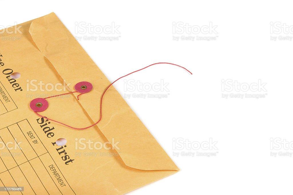 Internal Mail Envelope Buro Geschlossen Stock Fotografie Und Mehr