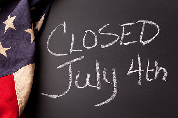 closed july 4th - closed stock photos and pictures