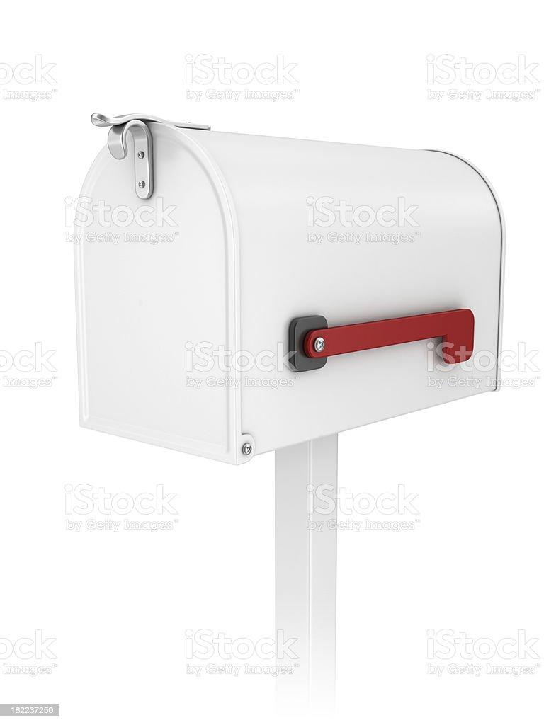 closed mailbox royalty-free stock photo