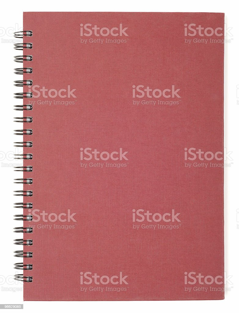 Closed Notebook royalty-free stock photo