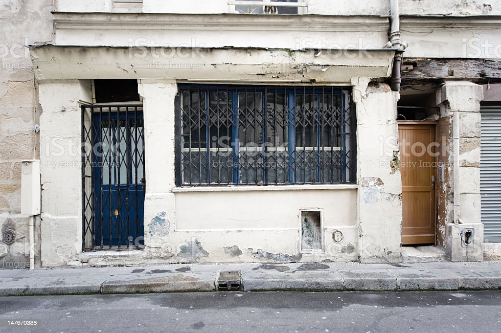 old shop geschlossen – Foto