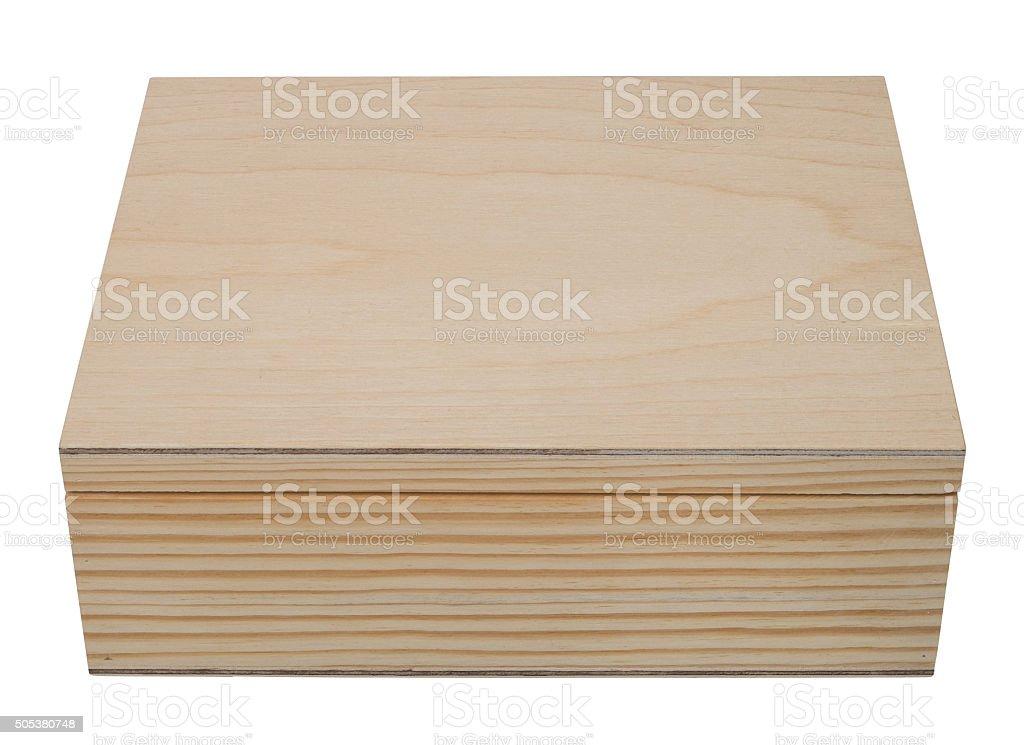 Geschlossene Dunkles Holzbox Für Kleine Gegenstände Stock-Fotografie ...