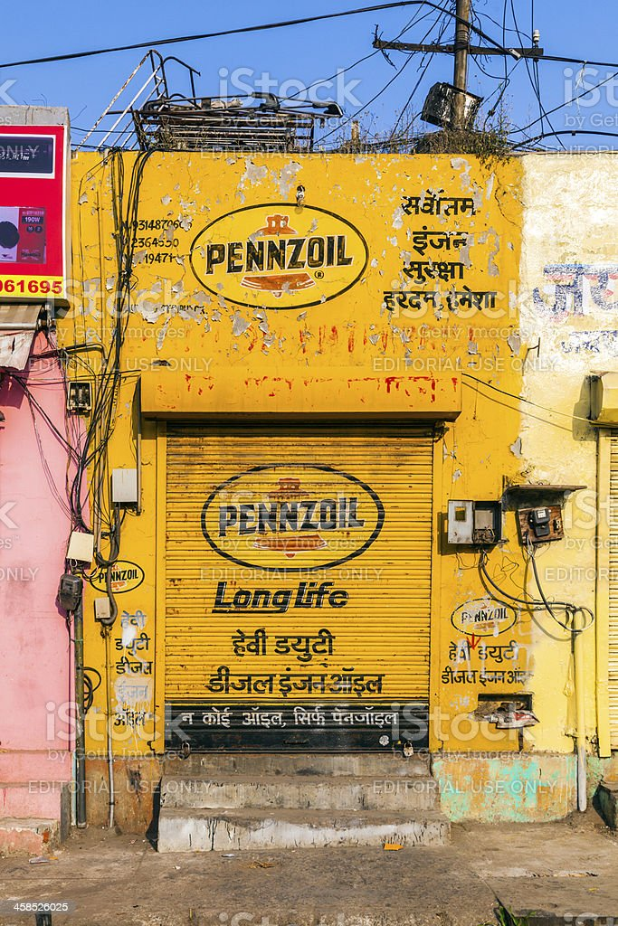 closed shops on Friday in Jaipur, India. For Hindi people, Friday is...