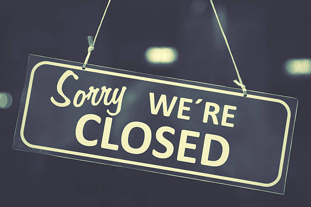 closed sign - closed stock photos and pictures