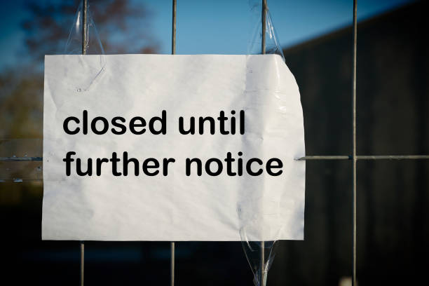 bis auf Weiteres geschlossen – Foto