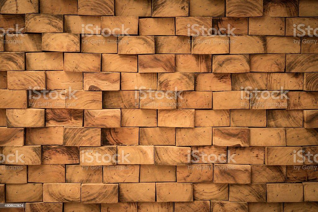 Geschlossen bis der real Holz Textur. – Foto