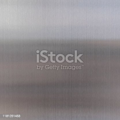 911885384 istock photo Closed up shiny aluminium texture. 1181251453