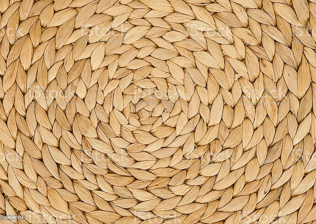 Closed Up Texture of Basket Weave Pattern stock photo