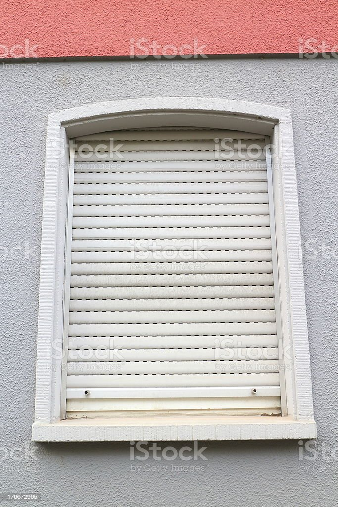 closed window royalty-free stock photo