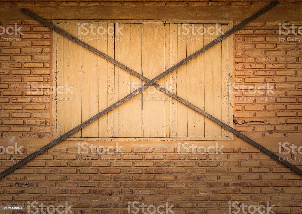 Geschlossenen Fenster  Lizenzfreies stock-foto