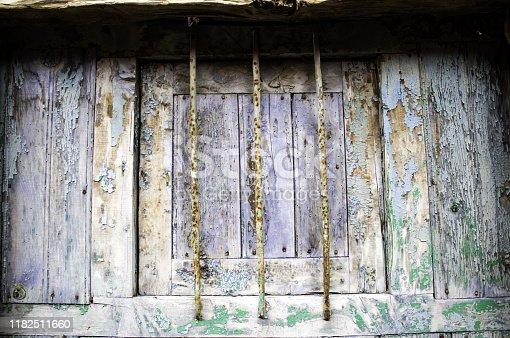 1124475954 istock photo Closed wooden window 1182511660