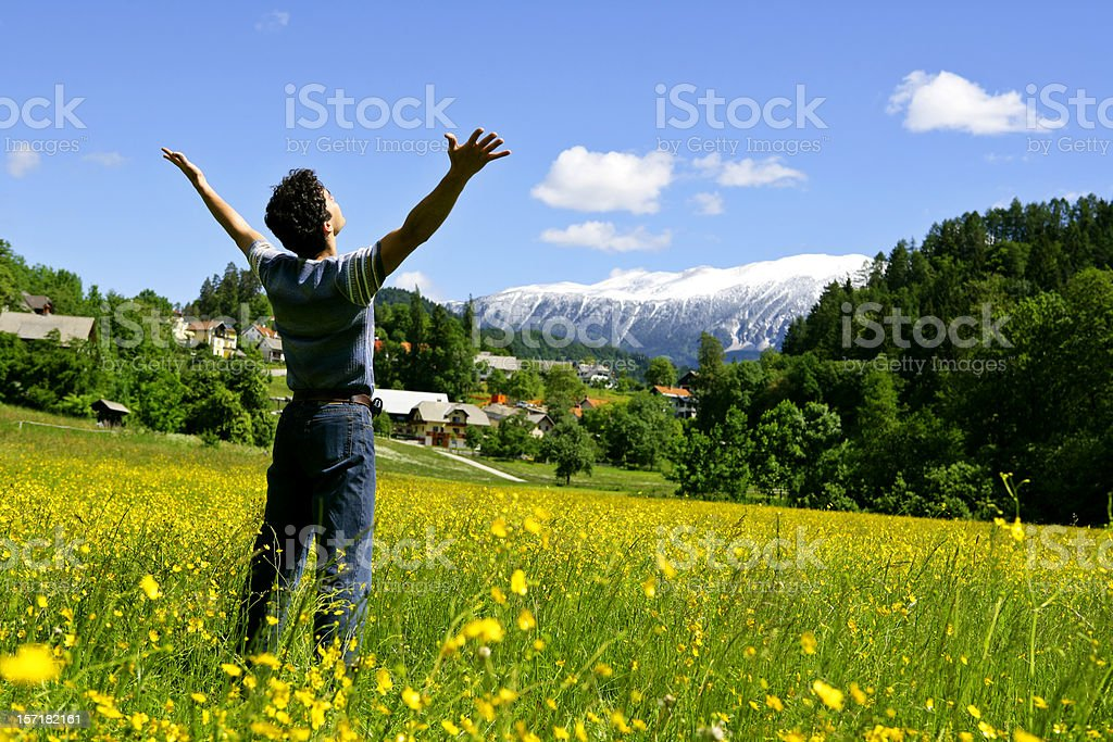 Closer to nature royalty-free stock photo