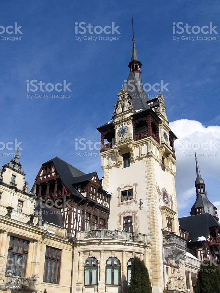 Closer view from an old castle royalty-free stock photo