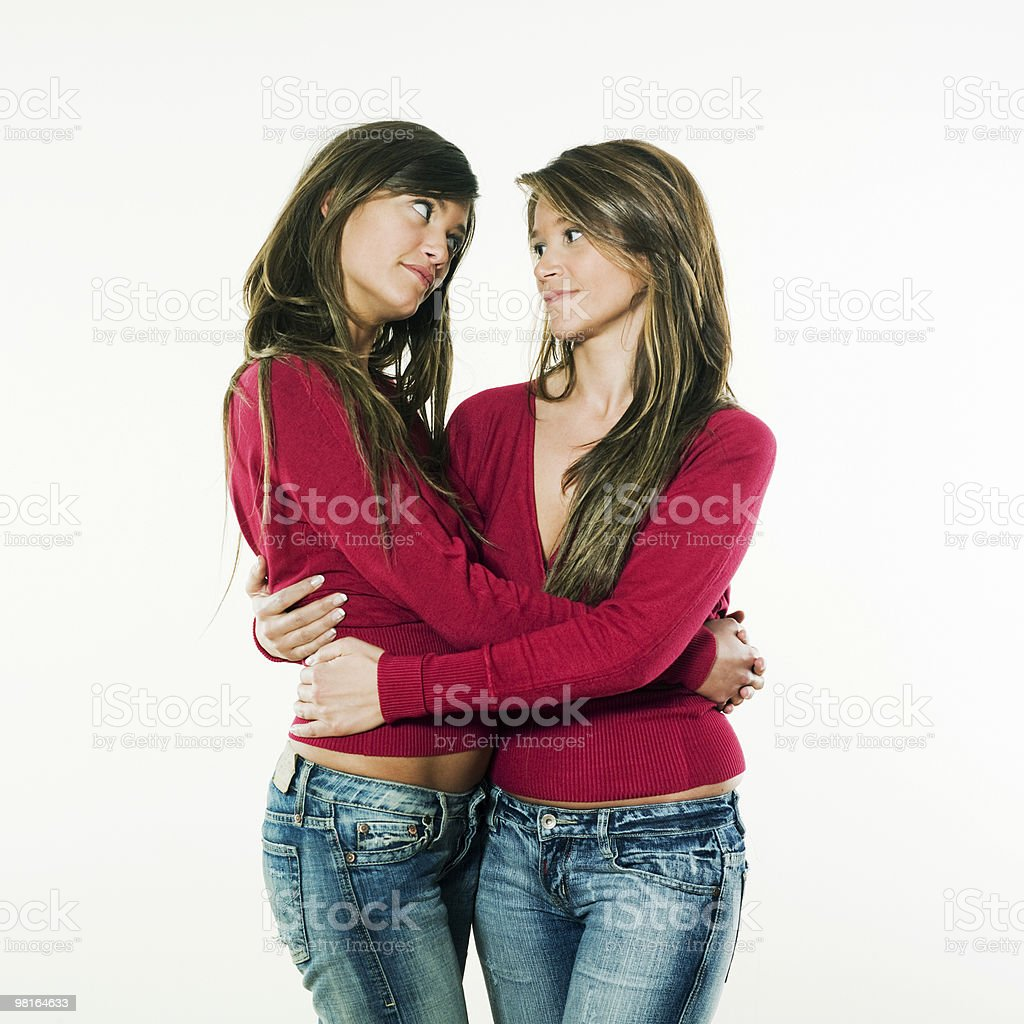 closest friends royalty-free stock photo