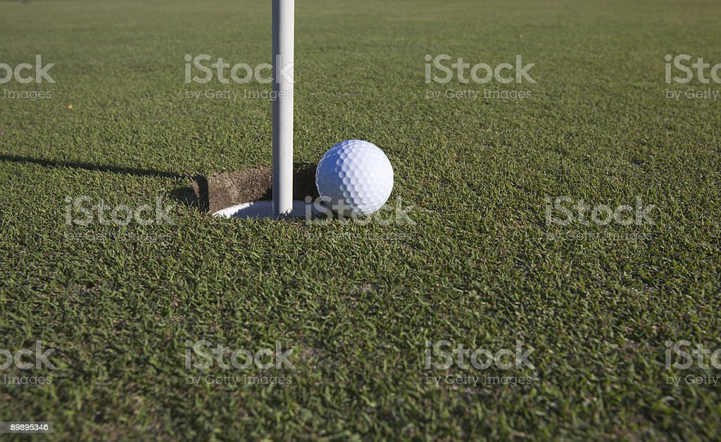 closest to the pin royalty-free stock photo