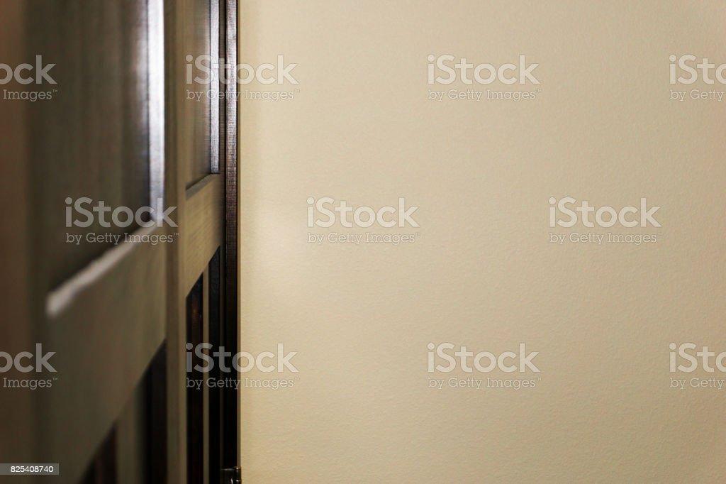 Closet Doors stock photo