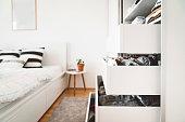 istock Closet in one bedroom apartment 1277434701