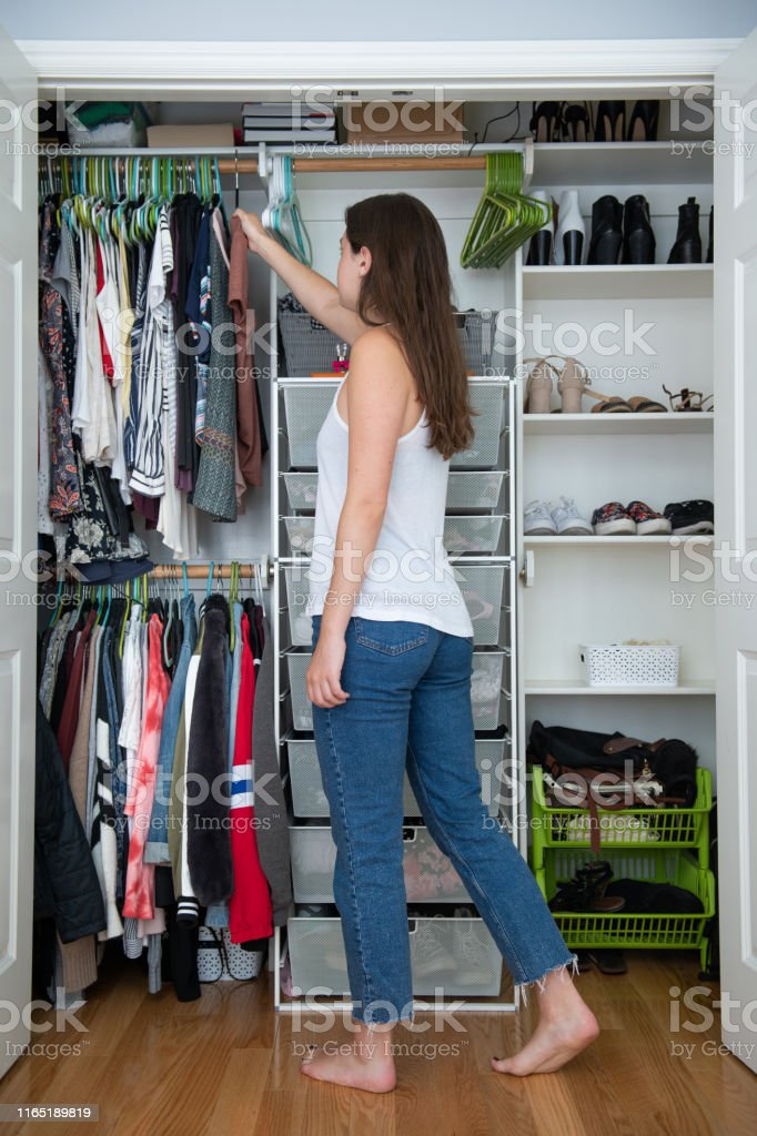 Closet Organization Stock Photo - Download Image Now - iStock