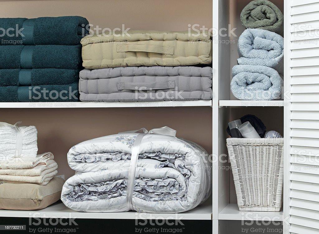 Closet royalty-free stock photo