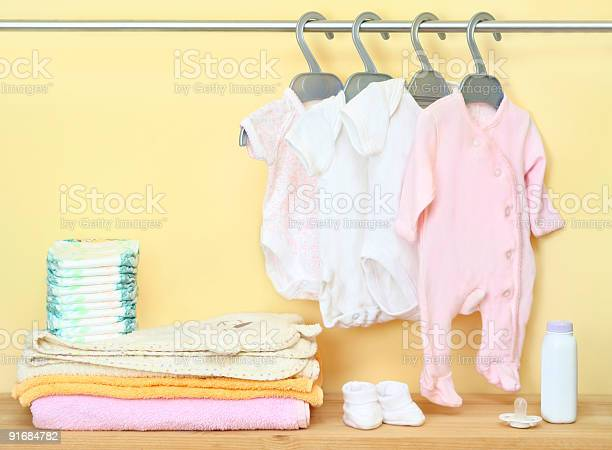 Closet with cute clothes and accessories for newborn picture id91684782?b=1&k=6&m=91684782&s=612x612&h=vflqm xny6ockaxrjddpk4yc5inrg2an1rrxgexxylw=