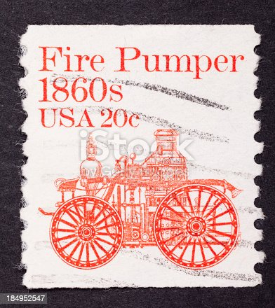 istock close-up American postage stamp 184952547