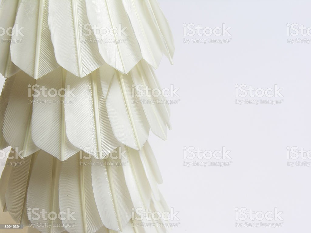 Close-up Badminton Shuttlecock royalty-free stock photo