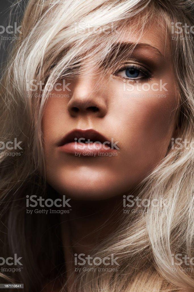 Closeup beauty royalty-free stock photo