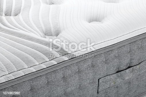 Closeup bed Mattress