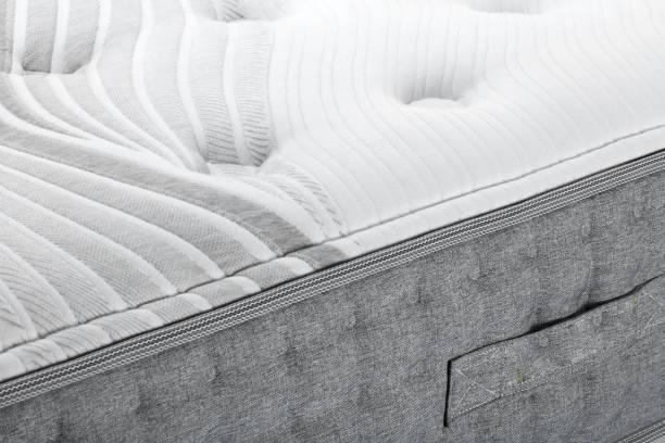 closeup yatak yatak - yatak stok fotoğraflar ve resimler