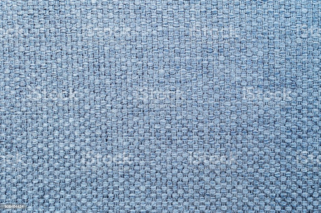 Closeup Blue Fabric At Sofa Texture Background Stock Photo More