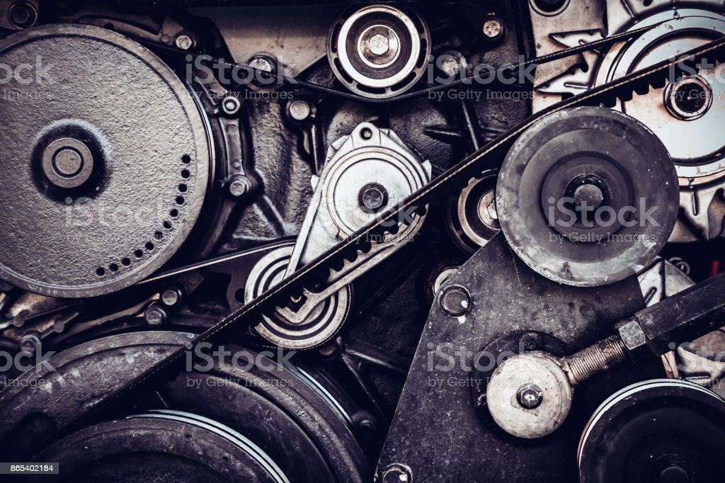 Closeup Car Engine Internal Combustion Engine Stock Photo Download Image Now Istock