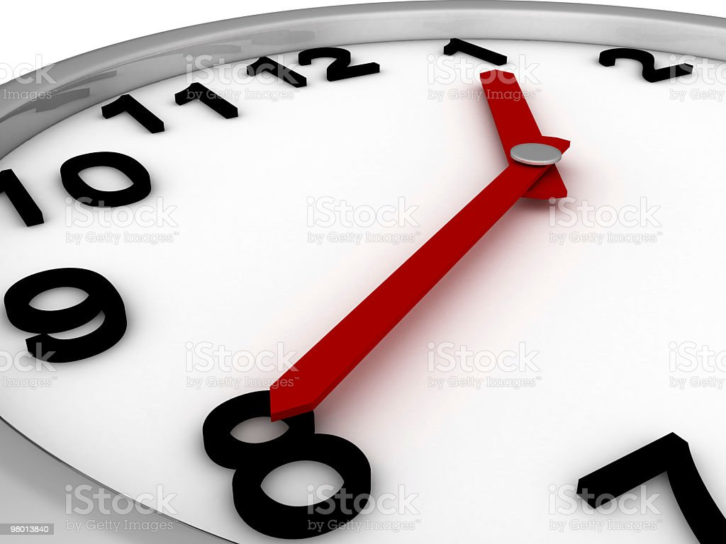 Close-up Clock royalty-free stock photo