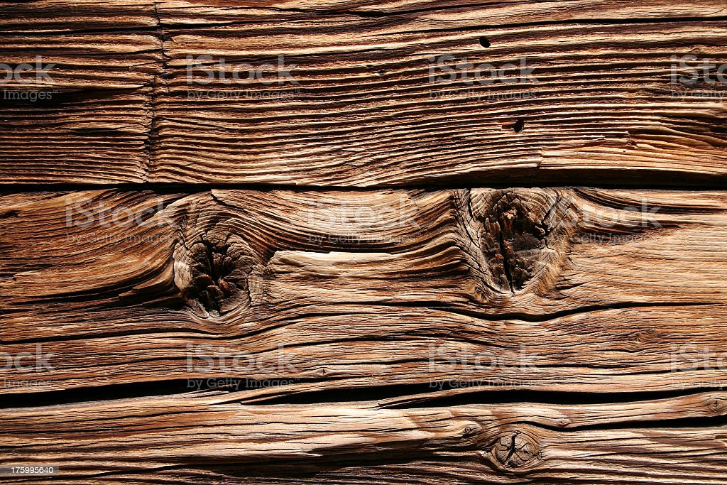 Close-up detail of dark wood grain royalty-free stock photo