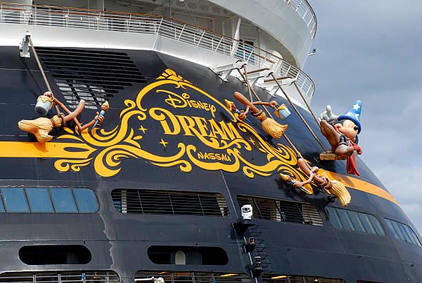 Close-up, Disney Dream Sterm stock photo