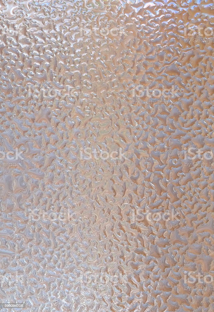 Closeup drops water on glass for background. royalty-free stock photo