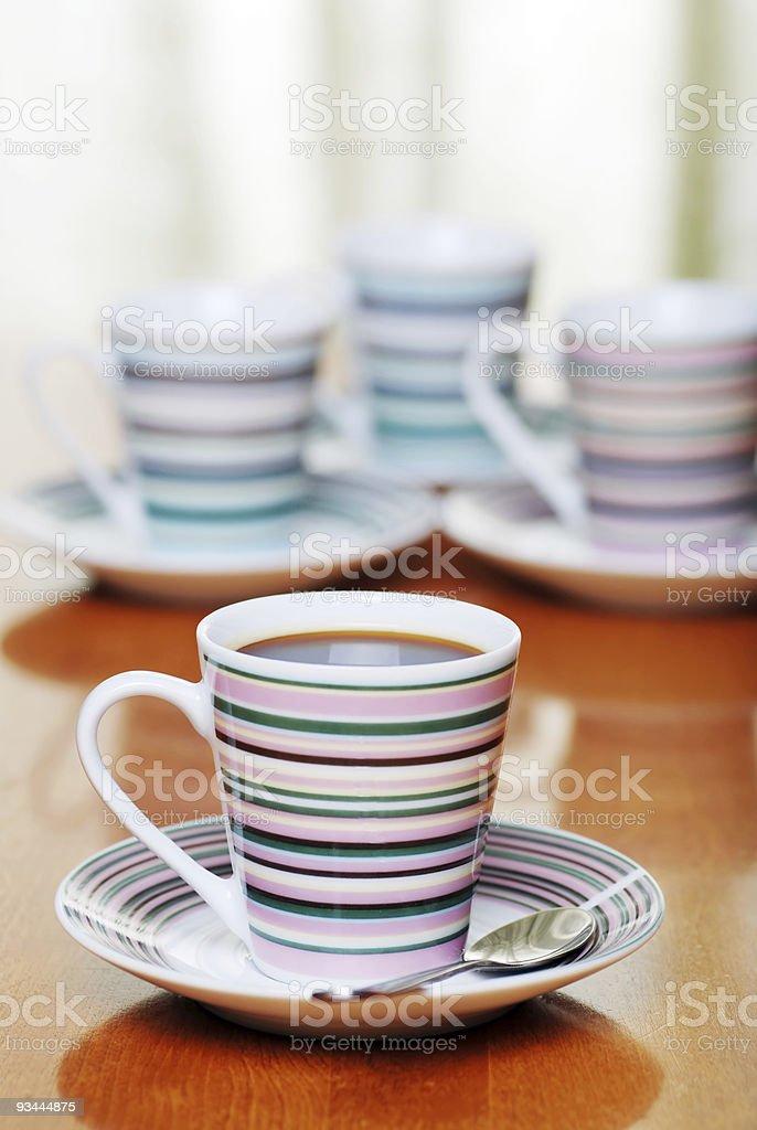 Nahaufnahme-espresso Lizenzfreies stock-foto