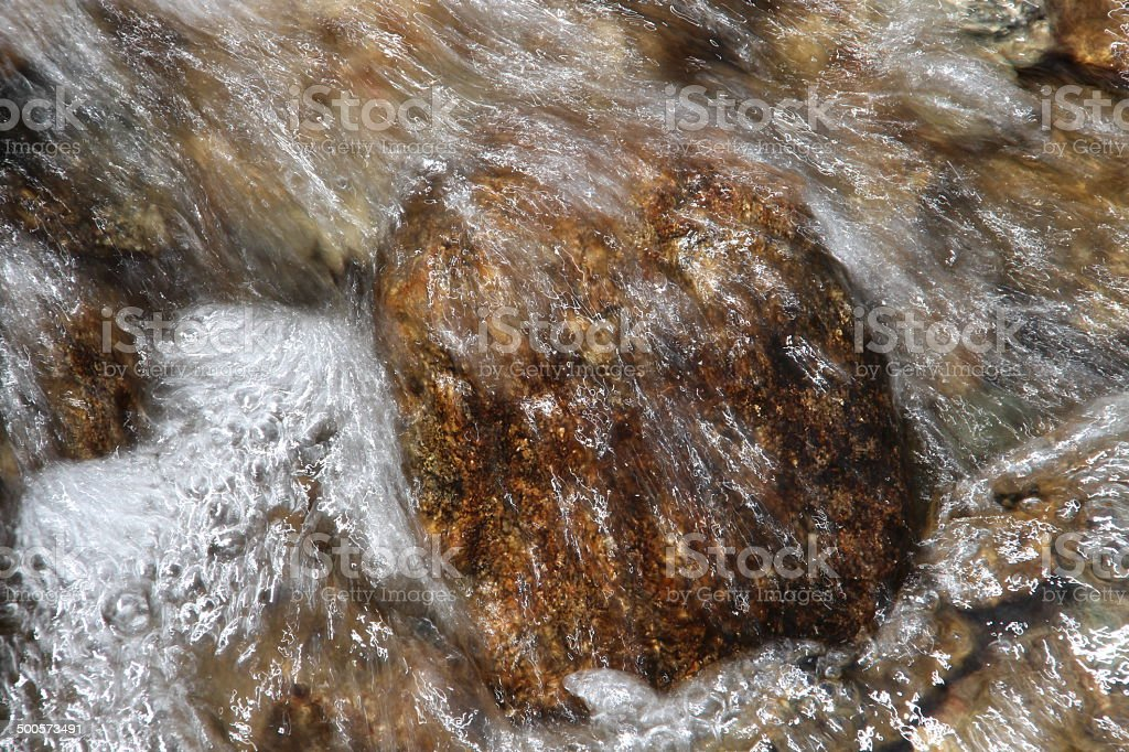 Close-up fast flowing water royalty-free stock photo