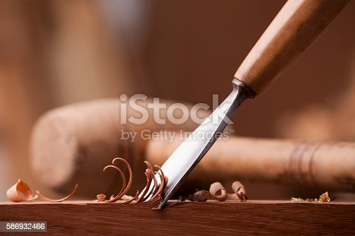 istock closeup gouge for wood on carpenter workbench 586932466