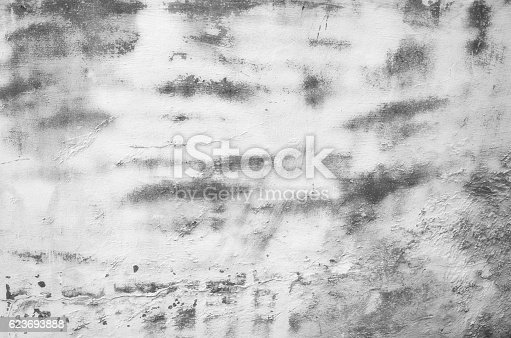 1061630554 istock photo Close-up gray black grunge old wall texture concrete cement background 623693888