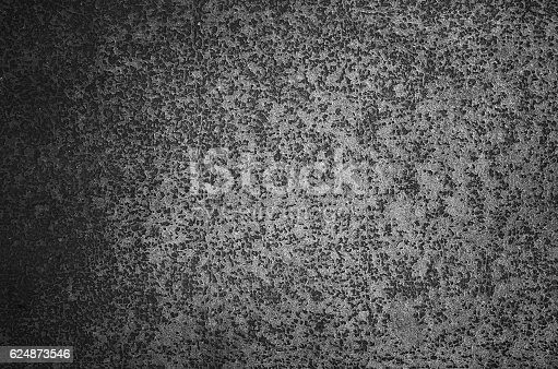 istock Close-up gray dark grunge old wall texture concrete cement background 624873546