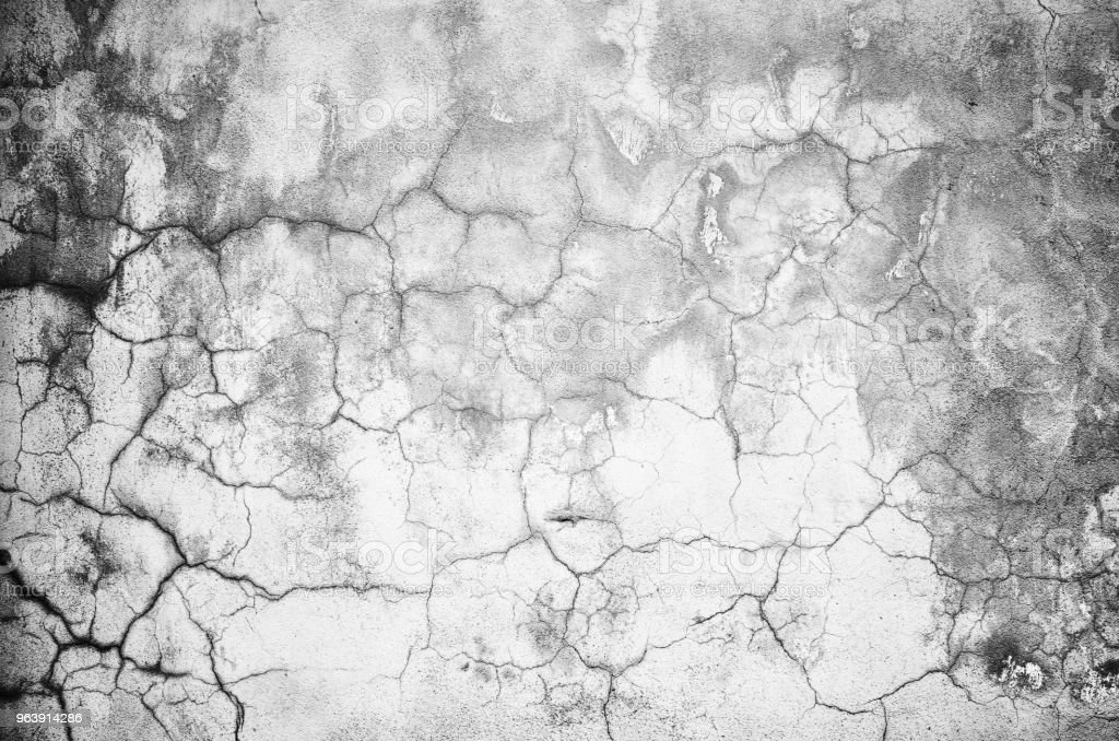 Close-up gray grunge old cracked wall texture - Royalty-free Aging Process Stock Photo